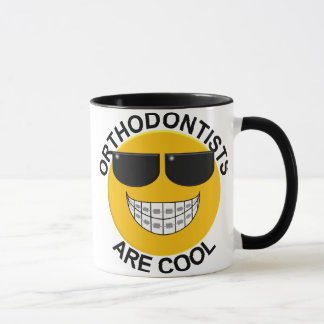 Orthodontists Are Cool Smiley Face Coffee Mug