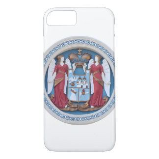 orthodox angels seal religion symbol stucco christ iPhone 8/7 case