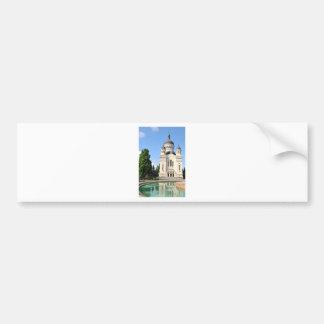 Orthodox cathedral in Cluj Napoca, Romania Bumper Sticker