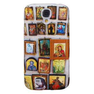 Orthodox, Christian, Icons, Byzantine, Greece Galaxy S4 Case