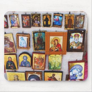 Orthodox, Christian, Icons, Byzantine, GrMousepad Mouse Pad