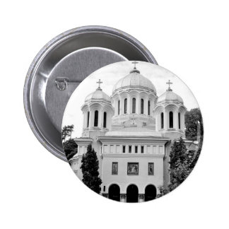 Orthodox church 6 cm round badge