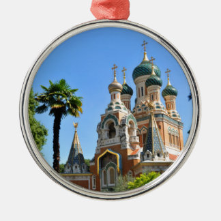 Orthodox church in Nice France Christmas Ornament