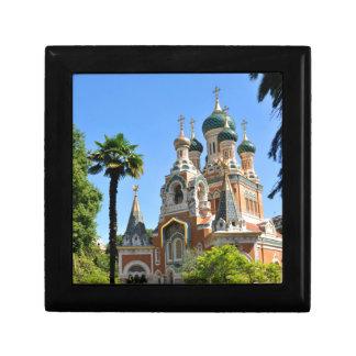 Orthodox church in Nice France Gift Box