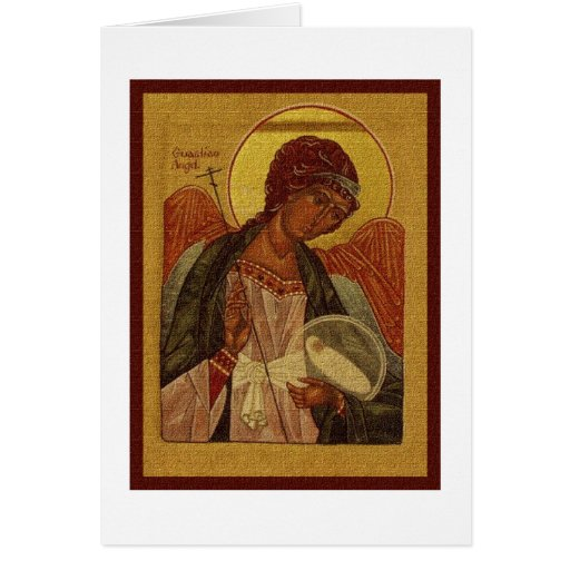 Orthodox Guardian Angel Cards