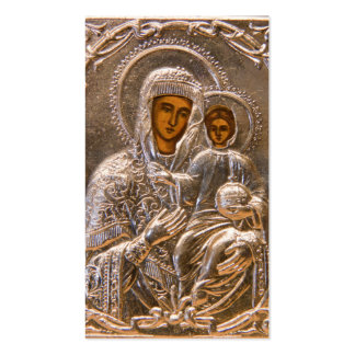 Orthodox icon business cards