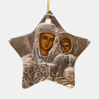 Orthodox icon christmas ornament