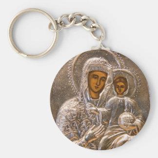 Orthodox icon key ring