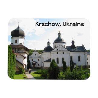 Orthodox Monastery, Krechow Ukraine Magnet