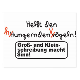 Orthography Postcard