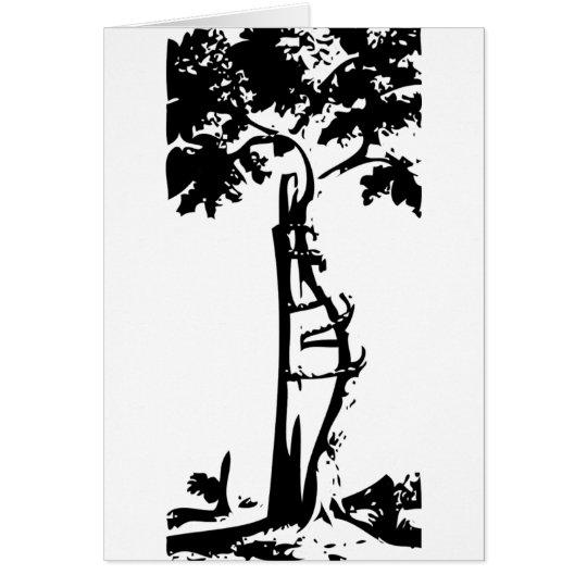 Orthopaedic Crooked Tree Card