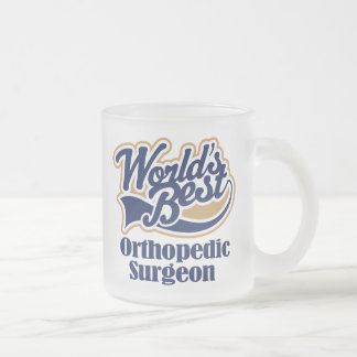 Orthopedic Surgeon Gift Frosted Glass Coffee Mug