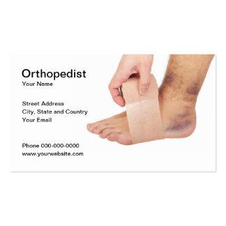 Orthopedist Business Card Business Card