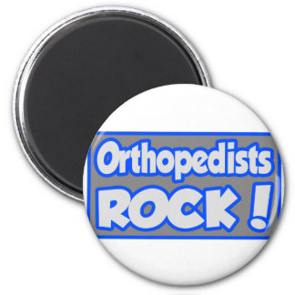 Orthopedists Rock! 6 Cm Round Magnet
