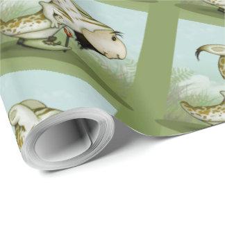 "ORTON ALIEN 30"" x 30'    CARTOON Wrapping Paper"