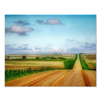 Orton Effect Rural Saskatchewan Art Prints Photo Print