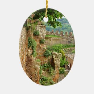 Orvieto Battlement Christmas Ornament