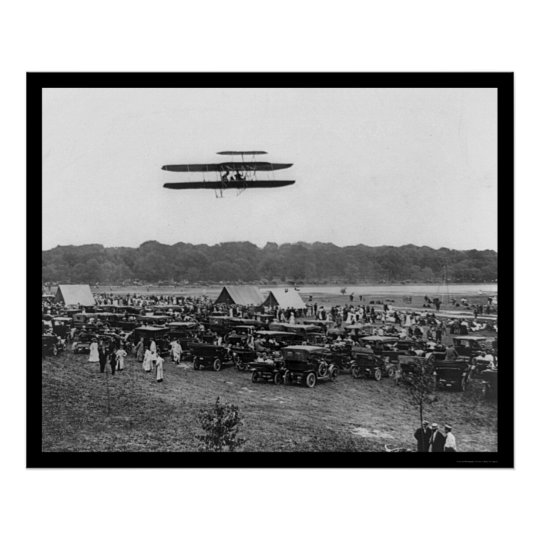 Orville Wright Record Flight 1909 Poster