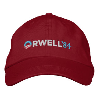 Orwell 1984 Hat Embroidered Baseball Cap