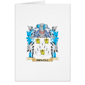 Orwell Coat of Arms - Family Crest Greeting Cards