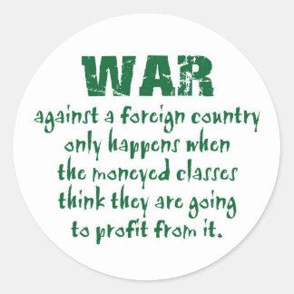 Orwell on War Sticker