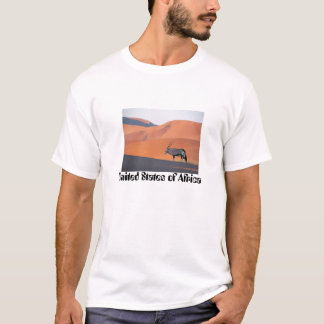 Oryx Antelope, United States of Africa T-Shirt