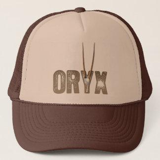 Oryx - beast of the desert / Namibia Africa Skull Trucker Hat