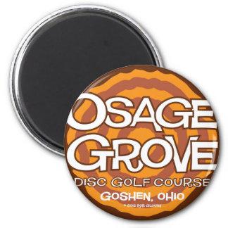 Osage Grove Disc Golf 6 Cm Round Magnet