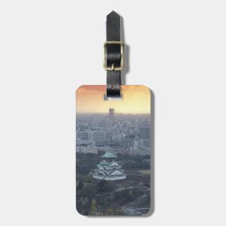 Osaka Castle Luggage Tag