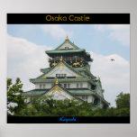 Osaka Castle Poster