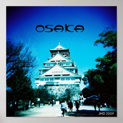 Osaka Castle Print