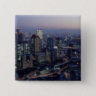 Osaka Prefecture 15 Cm Square Badge