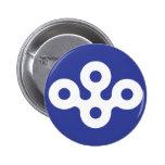 Osaka Prefecture, Japan Button