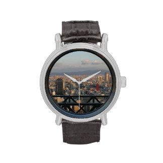 Osaka view from Umeda Sky Building Wrist Watch