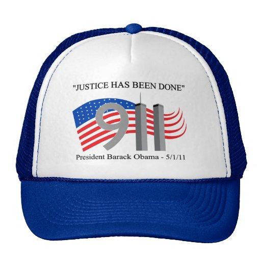 Osama Bin Laden Dead - Justice has been done Mesh Hats