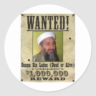 OSAMA BIN LADIN DEAD STICKER
