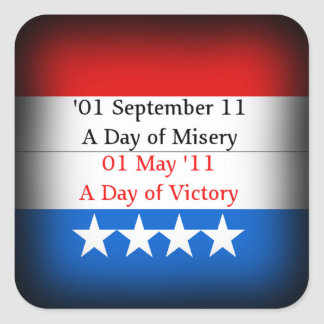 Osama Victory Stickers