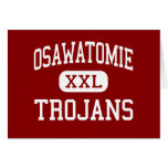 Osawatomie - Trojans - High - Osawatomie Kansas Card