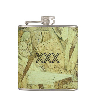 OSB Chip Board Plywood Flask