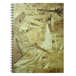 OSB Chip Board Plywood Spiral Note Books