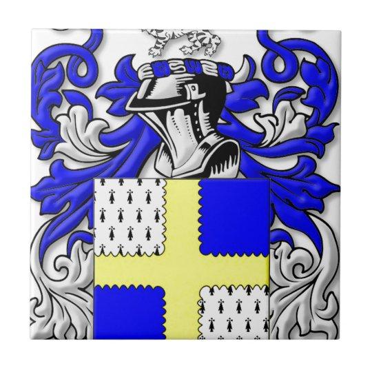 Osborne Coat of Arms Small Square Tile