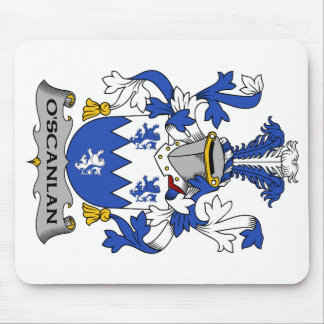 O'Scanlan Family Crest Mouse Pad
