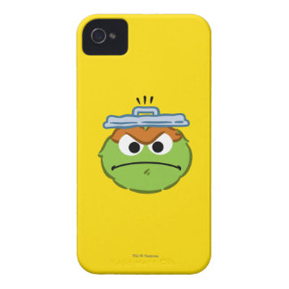 Oscar Angry Face iPhone 4 Case-Mate Cases