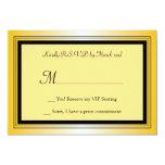 Oscar Award Party RSVP Card Invitations