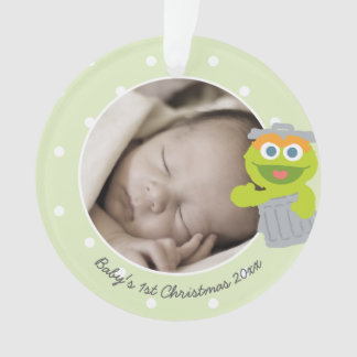 Oscar | Baby's First Christmas - Add Your Name Ornament