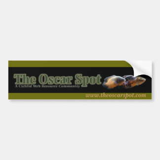 Oscar Banner 2 Car Bumper Sticker