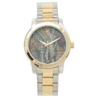 Oscar Diggs Silver and Gold Watch