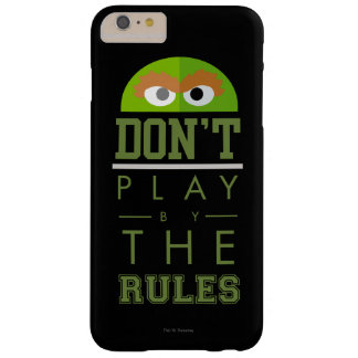 Oscar Don't Play by Rules Barely There iPhone 6 Plus Case