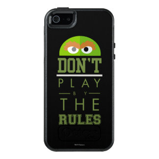 Oscar Don't Play by Rules OtterBox iPhone 5/5s/SE Case