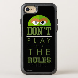 Oscar Don't Play by Rules OtterBox Symmetry iPhone 8/7 Case